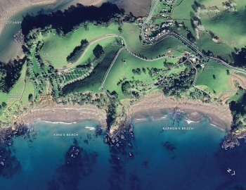 Find your ideal camp location either next to the beaches, on the estuary or in the valleys at Barrons Farm in Whananaki
